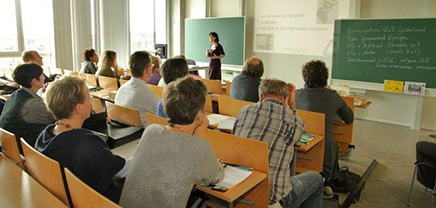 Picture of students in a lecture-room