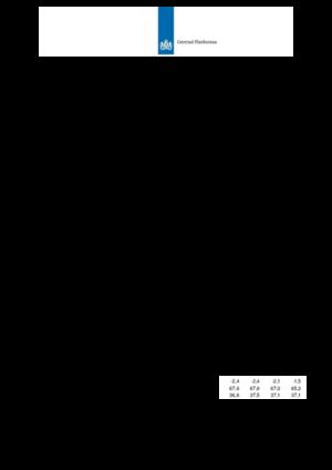 Kerngegevenstabel plus koopkrachttabel concept Macro Economische Verkenning 2013-2016