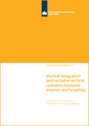 Image for Vertical integration and exclusive vertical restraints in health-care markets