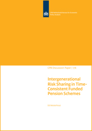 Image for Intergenerational Risk Sharing in Time-Consistent Funded Pension Schemes
