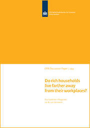 Image for Do rich households live farther away from their workplaces?