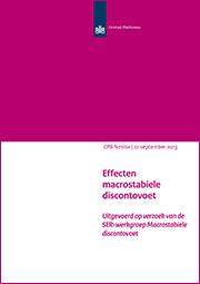 Image for Effecten macrostabiele discontovoet