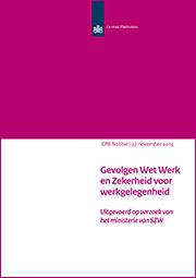 Image for Gevolgen Wet Werk en Zekerheid voor werkgelegenheid