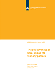 Image for The effectiveness of fiscal stimuli for working parents