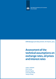 Image for Assessment of the technical assumptions on exchange rates, oil prices and interest rates (CEP2015)