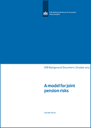 Image for A model for joint pension risks