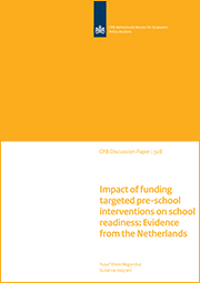 Image for Impact of funding targeted pre-school interventions on school readiness: Evidence from the Netherlands