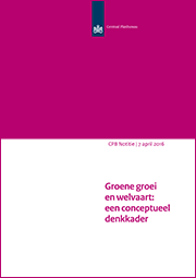 Image for Groene groei en welvaart: een conceptueel denkkader