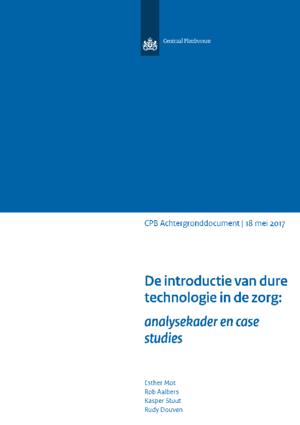 De introductie van dure technologie in de zorg: analysekader en case studies
