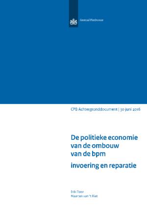 """<a href=""""/publicatie/de-politieke-economie-van-de-ombouw-van-de-bpm-invoering-en-reparatie"""">De politieke economie van de ombouw van de bpm: invoering en reparatie</a>"""