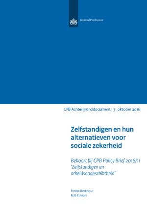 Zelfstandigen en hun alternatieven voor sociale zekerheid