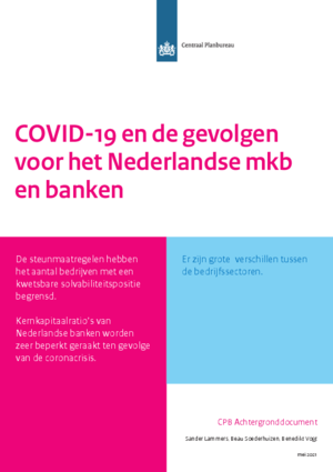 COVID-19 en de gevolgen voor het Nederlandse mkb en banken