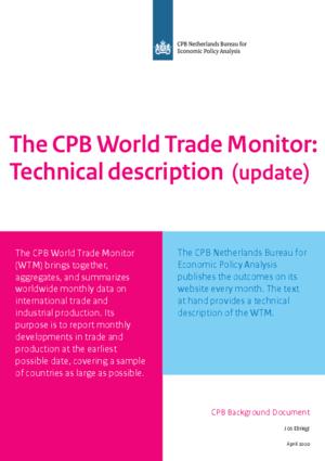 De CPB Wereldhandelsmonitor: technische beschrijving (update 2020)