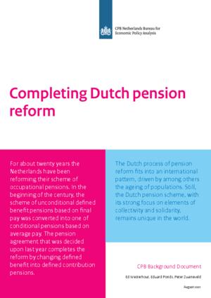 Completing Dutch pension reform