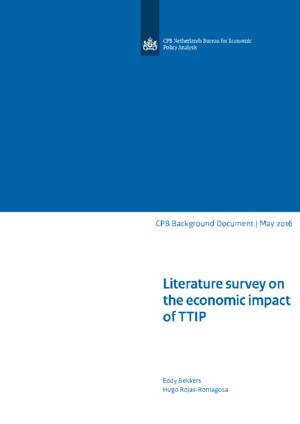 Literature survey on the economic impact of TTIP