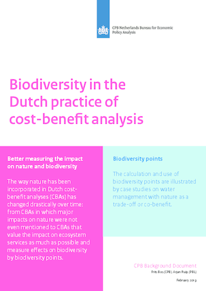 Biodiversity in the Dutch practice of cost-benefit analysis