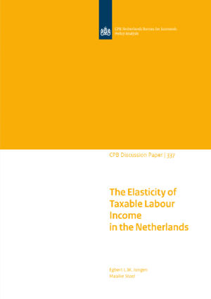 The elasticity of taxable income in the Netherlands