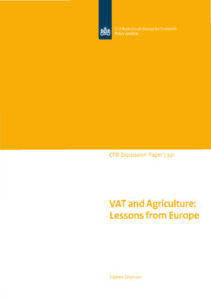 VAT and Agriculture: Lessons from Europe