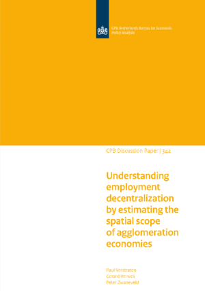 Understanding employment decentralization by estimating the spatial scope of agglomeration economies