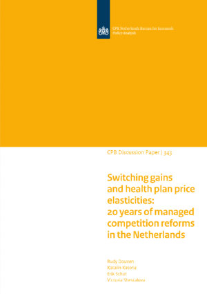 Switching gains and health plan price elasticities: 20 years of managed competition reforms in the Netherlands