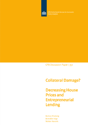 Collateral Damage?  Decreasing House Prices and Entrepreneurial Lending