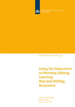 Using Tax Deductions to Promote Lifelong Learning: Real and Shifting Responses