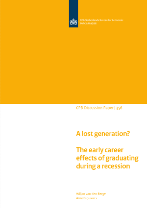 A lost generation? The early career effects of graduating during a recession