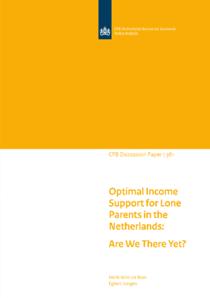 Optimal Income Support for Lone Parents in the Netherlands: Are We There Yet?