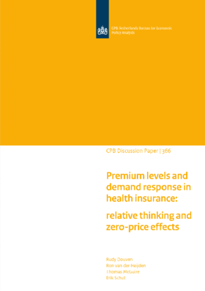 Premium levels and demand response in health insurance: relative thinking and zero-price effects