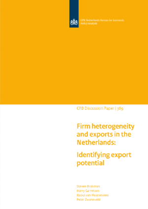Firm heterogeneity and exports in the Netherlands: Identifying export potential