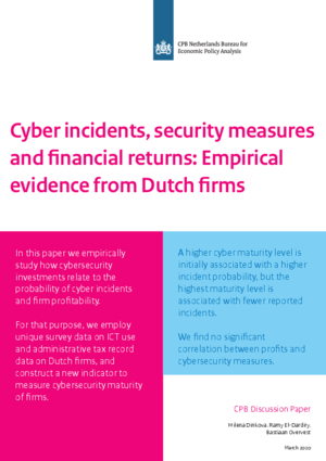 Cyber incidents, security measures and financial returns: Empirical evidence from Dutch firms