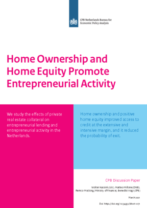 Home Ownership and Home Equity Promote Entrepreneurial Activity