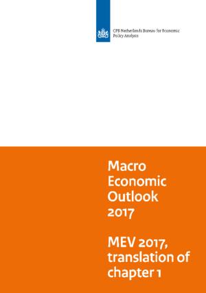 Macro Economic Outlook (MEV) 2017