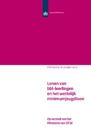 Lonen van bbl-leerlingen en het wettelijk minimumjeugdloon