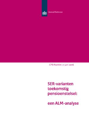 SER-varianten toekomstig pensioenstelsel: een ALM-analyse