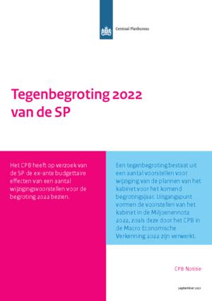 Tegenbegroting 2022 van de SP