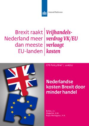 Nederlandse kosten Brexit door minder handel