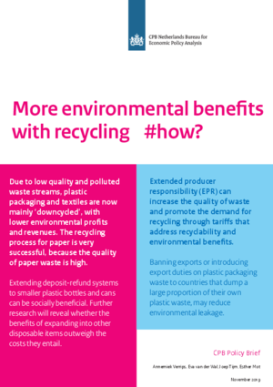 More environmental benefits with recycling #how?