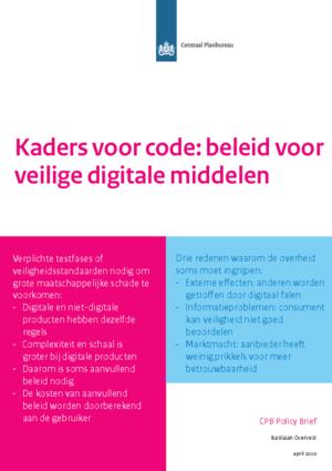Kaders voor code: beleid voor veilige digitale middelen