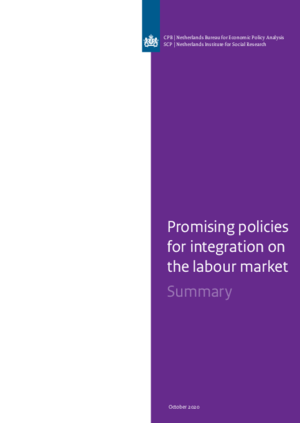 Promising policies for integration on the labour market, English summary