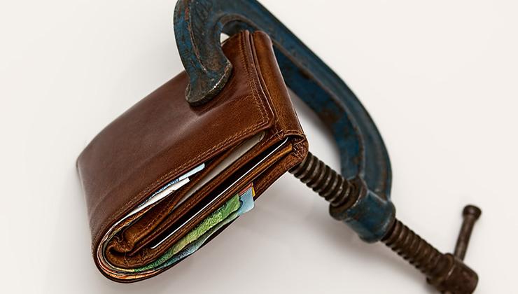 Image for Consument met hoge hypotheek houdt bij crisis hand op knip