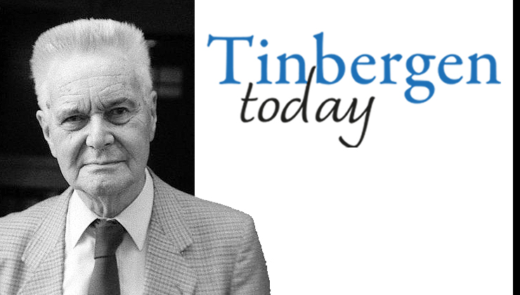 Image 2019 is called the year of Jan Tinbergen