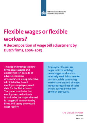 Flexible Wages or Flexible Workers?