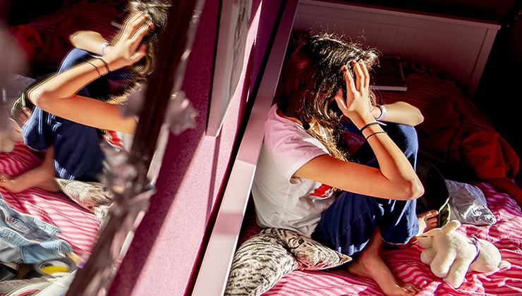 Puber maakt zich zorgen in coronatijd