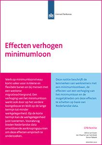 Image for Verhoging minimumloon veroorzaakt bredere loonstijging