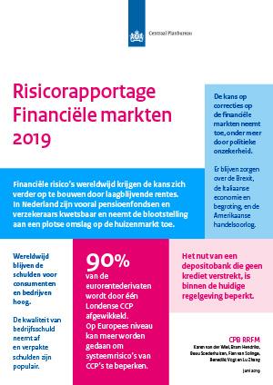 CPB Notitie Risicorapportage Financiële Markten 2019