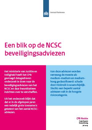 Een blik op de NCSC beveiligingsadviezen