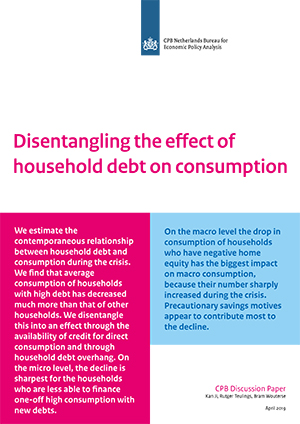 Disentangling the effect of household debt on consumption
