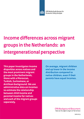 Income differences across migrant groups in the Netherlands: an intergenerational perspective