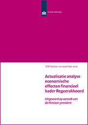 Image for Actualisatie analyse economische effecten financieel kader Regeerakkoord